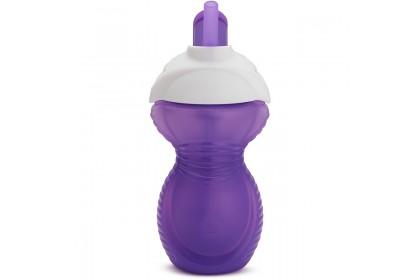 Munchkin Click Lock Flip Straw Cup 9oz - Purple