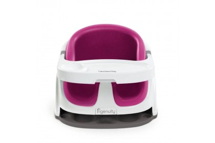 Ingenuity New Baby Base 2-In-1 (Pink)