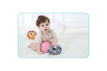 Jollybaby Soft Chime Ball - Lion