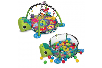 Infantino Grow-With-Me Activity Gym & Shape Sorting Ball Pit™